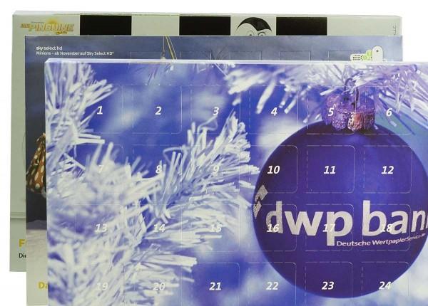 individual advent calendar, 40g