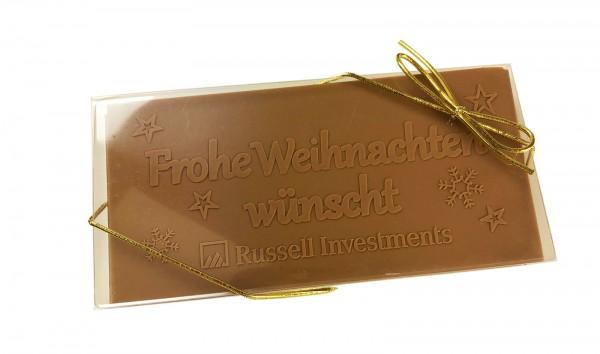 durchsichtige Schokoladenbox