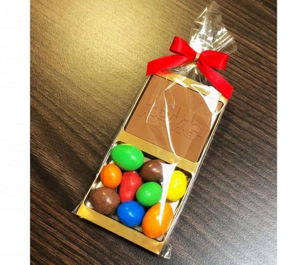 Choco M&M's Present