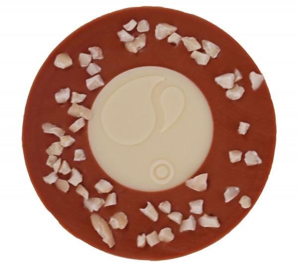 Design Milch-Weiß-Mandeln